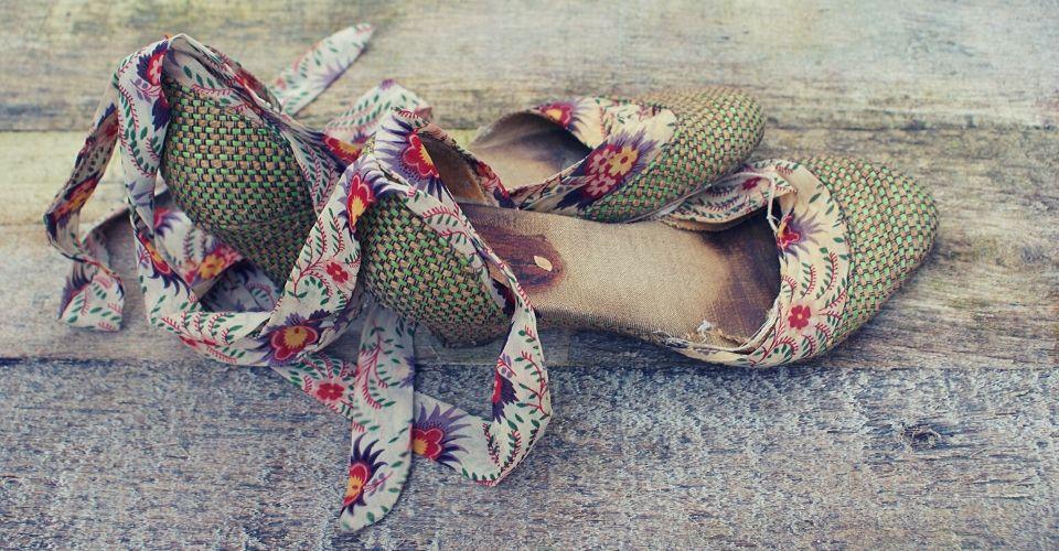 Oude schoenen weggooien voordat je nieuwe hebt!